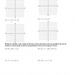 Graphing And Properties Of Parabolas - Kuta Software Llc