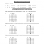 Greatest Integer Function Worksheet With Answers
