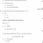 Ib Maths Sl Sequence And Series Practice Problems Mr. W Name