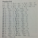 Lesson 9 Homework Practice Answers. Need Someone To Write My