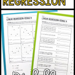 Linear Regression Riddle Activity In 2020 | Algebra