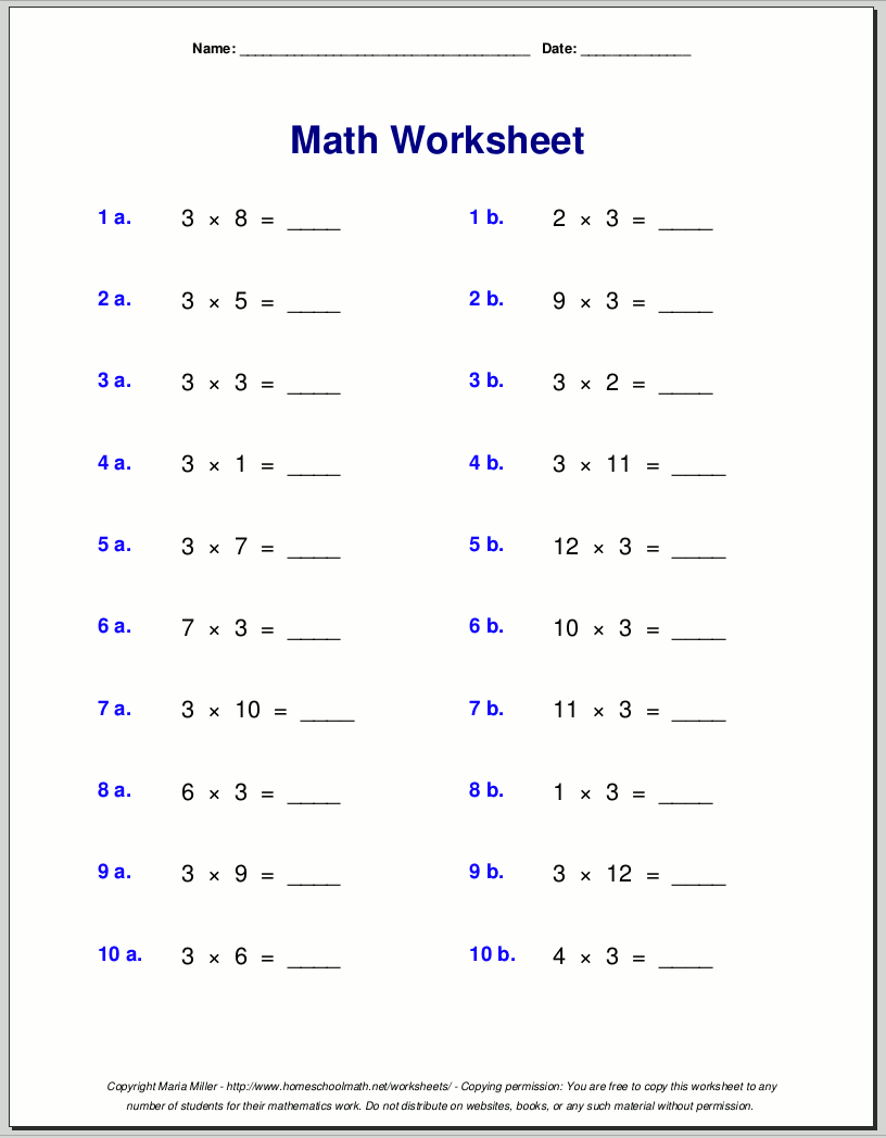 Nine Times Table 5Th Grade Multiplication Woth Problems