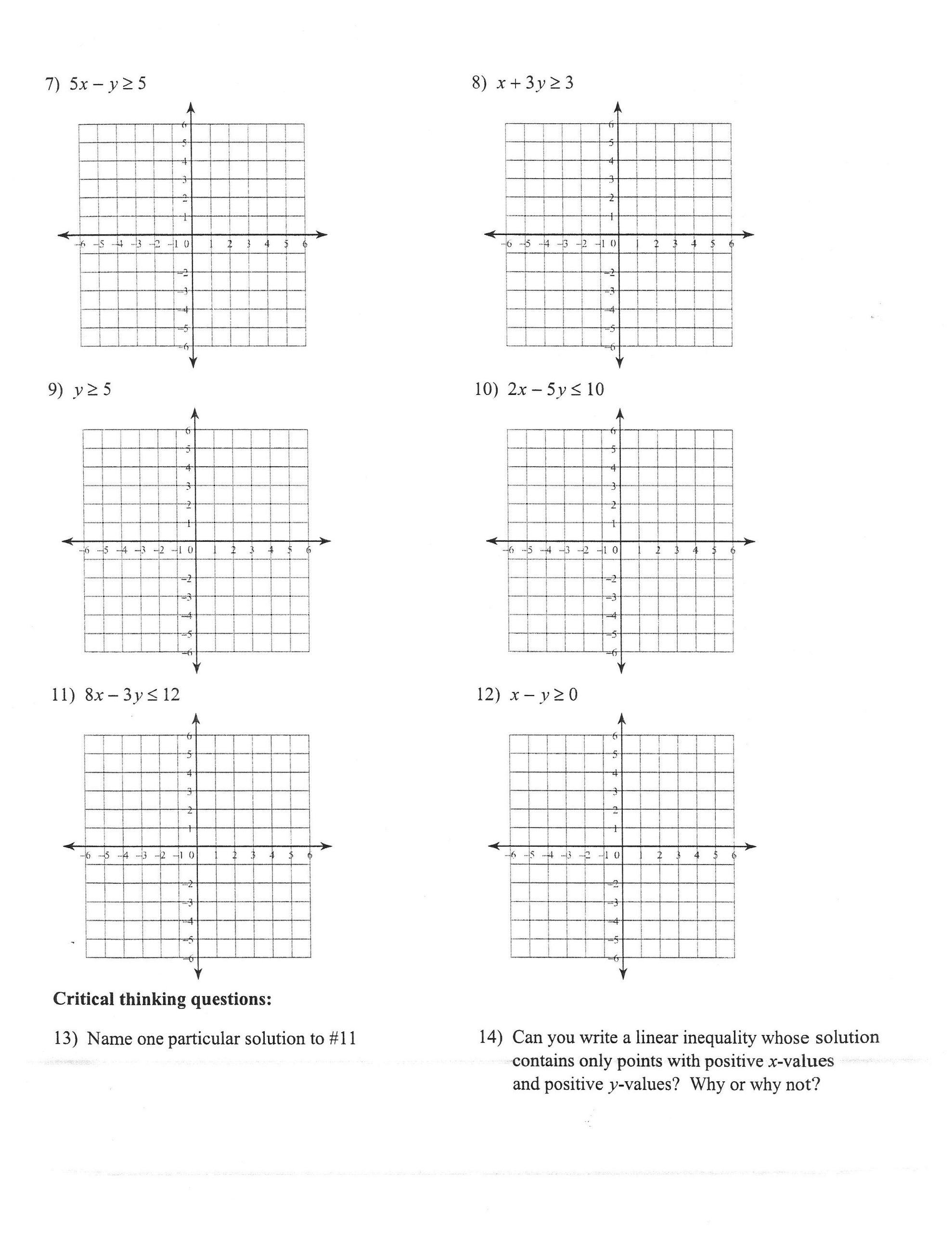 Outstanding Graphing Absolute Value Functions Worksheet