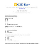 Parenthesis Ged Math Worksheets With Answers | Printable