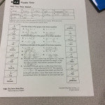 Puzzle Time Worksheet Answers Promotiontablecovers Math