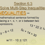 """Section 6.3 """"Solve Multi-Step Inequalities"""" - Ppt Download"""