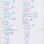 Solving Equationscompleting The Square Worksheet Kuta