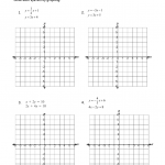 Solving Systems Of Equationsgraphing Solve Each System