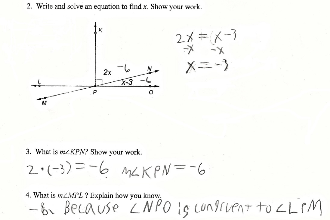 Supplementary And Complementary Angles Worksheet With