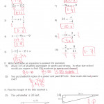 Systems Of Equations Substitution Worksheet | Kids Activities