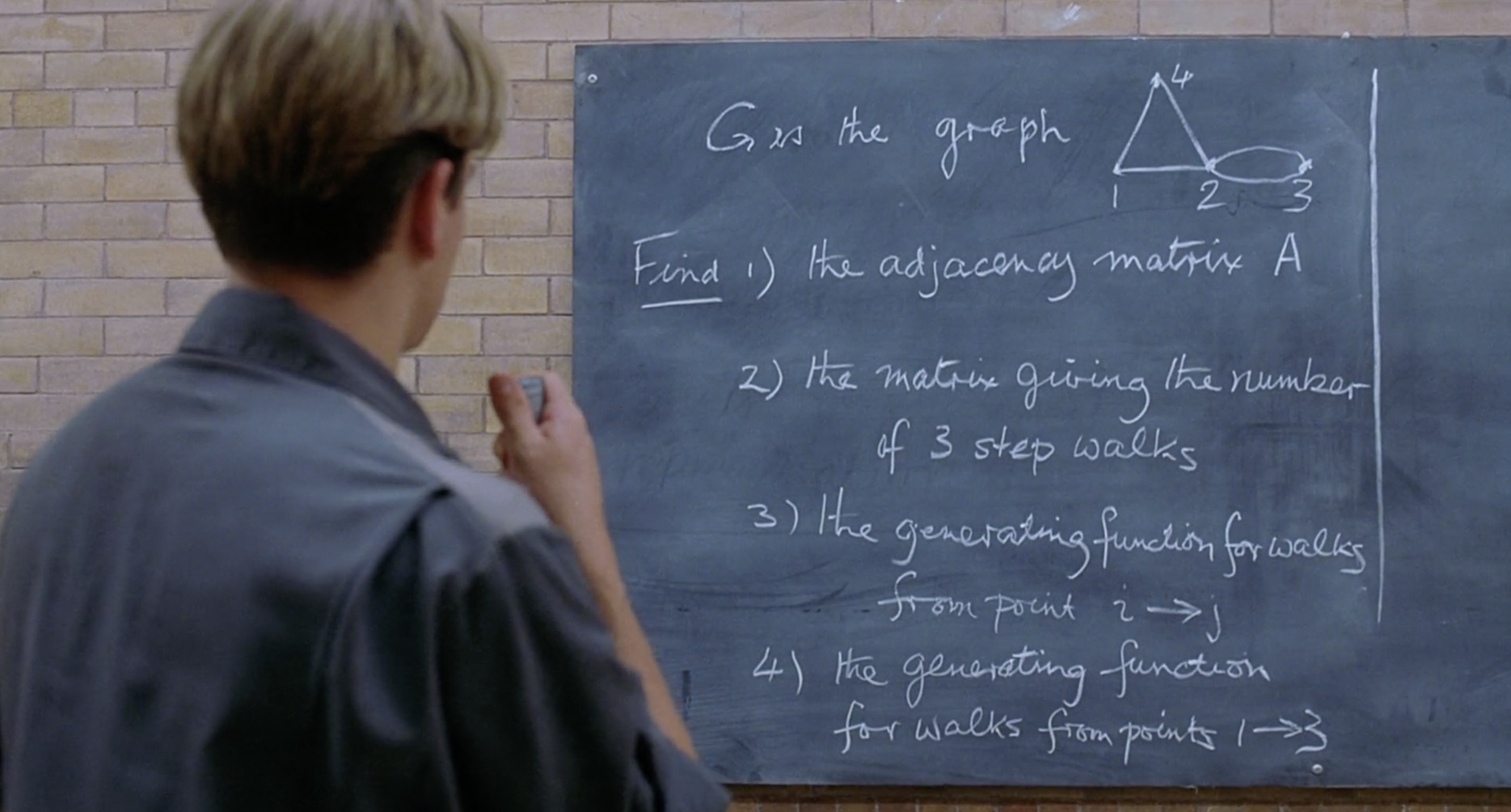 The Math Problems From Good Will Hunting, W/ Solutions |