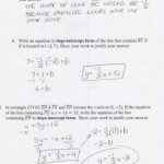 Worksheet C5 Writing The Equation Of A Line Answers | Kids