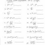 Worksheet On Exponents And Powers | Kids Activities