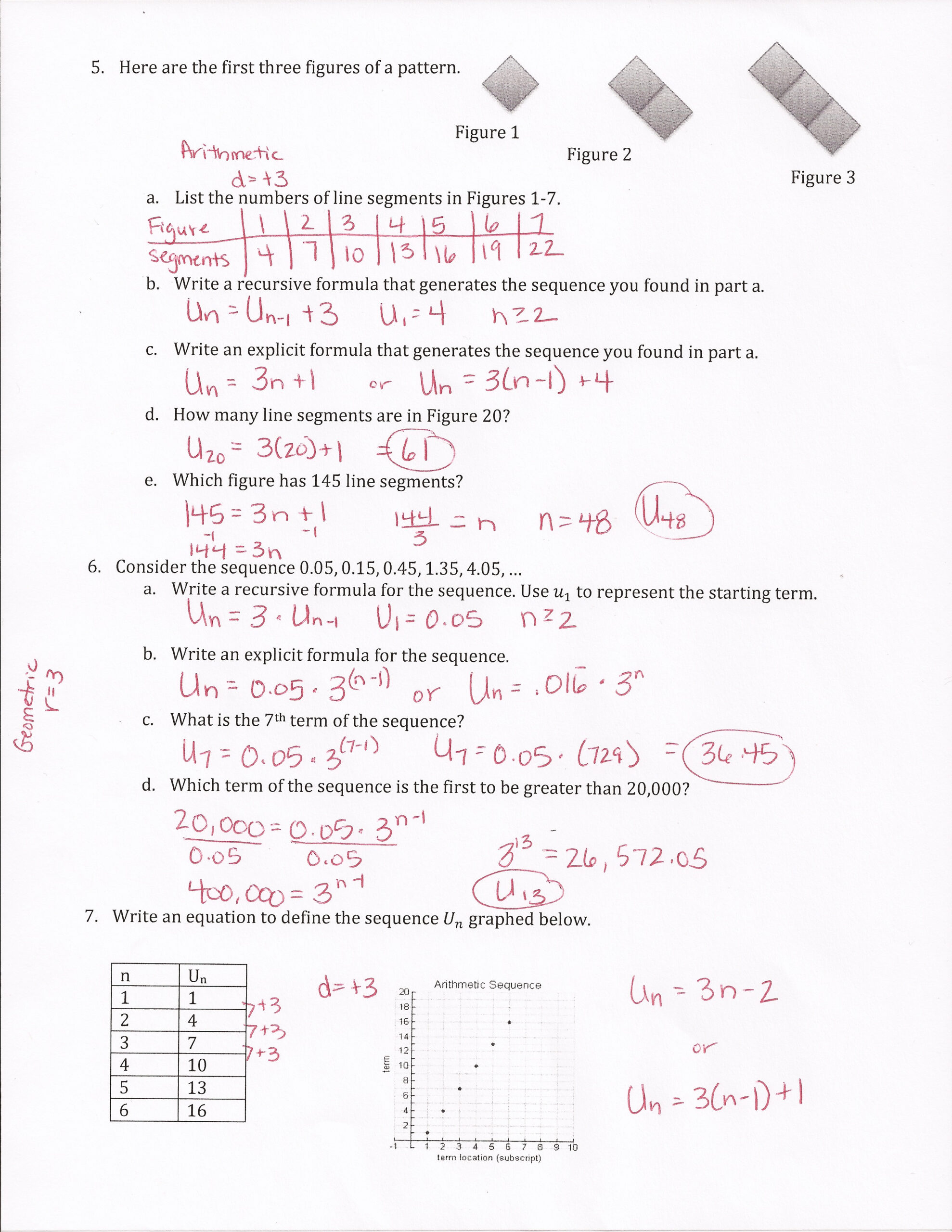 30 Geometric Sequence Worksheet With Answers - Worksheet