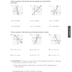 43 Excelent Graphing Linear Equations Worksheet Template