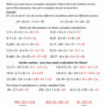 5Th Grade Math Worksheets With Answer Key   Math Worksheets
