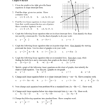 Algebra 1 Name: 1A 1B Chapter 5 Review Given The Graph To The
