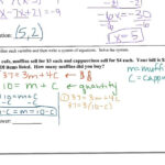 Algebra 2 Chapter 3 Review