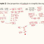 Algebra 2: Section 5.2 - Properties Of Rational Exponents And Radicals