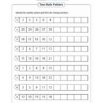 Can You See The Pattern? Worksheet