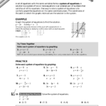 Chapter 13 — Systems Of Equations And Inequalities