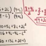 Complex Numbers - Multiplying And Dividing