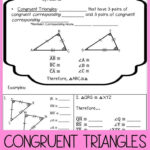 Congruent Triangles Worksheet Answer Key Congruent Triangles