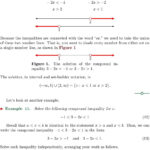 Extraordinary Solving And Graphing Inequalities Worksheet