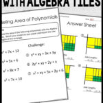Factoring And Multiplying Polynomials Stations   Polynomials
