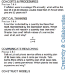 First Day – Algebra 2 | The Math Projects Journal