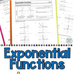 Graphing Exponential Functions Worksheet Answers Exponential