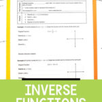 Inverse Functions Lesson | Inverse Functions, Algebra Lesson
