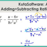 Kutasoftware: Algebra 1- Adding And Subtracting Rational Expressions Part 1