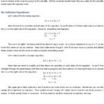 No Solution Equations Let S Look At The Following Equation