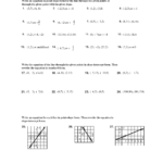 Point Slope Form Worksheet Doc Equation Puzzles And Riddles