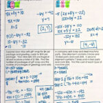 Solving Systems Of Equationselimination Interactive