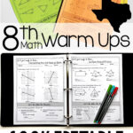 These Teks Aligned Warm Ups Are Perfect For My 8Th Grade