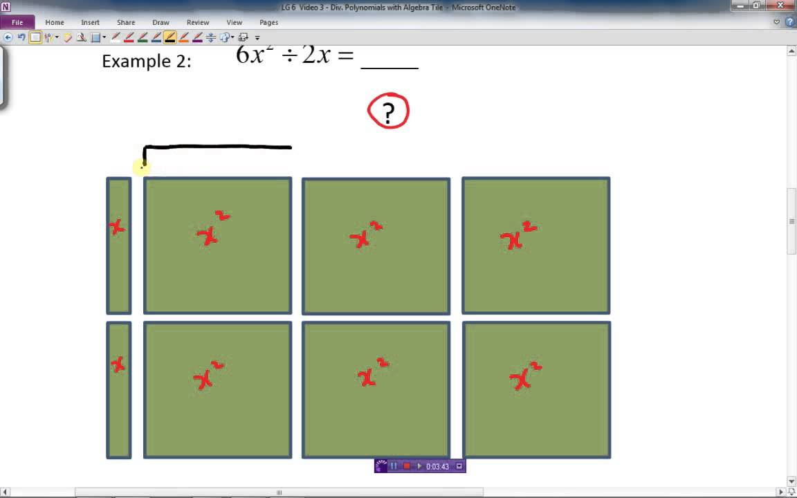 Unit 5.6 - Multiplying And Dividing Polynomialsa