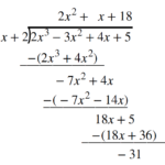 Use Synthetic Division To Divide Polynomials | College Algebra