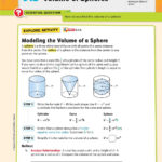 Volume. Volume Of Cylinders 8.6.a, 8.7.a. Volume Of Cones