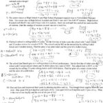 Writing Linear Equations Worksheet Word Problems | Kids