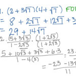 Ws 6-5 Operations With Radical Expressions | Math, Algebra 2